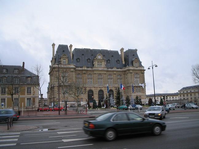 Рядом с Версальским дворцом