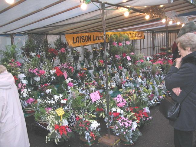 Цветочный рынок